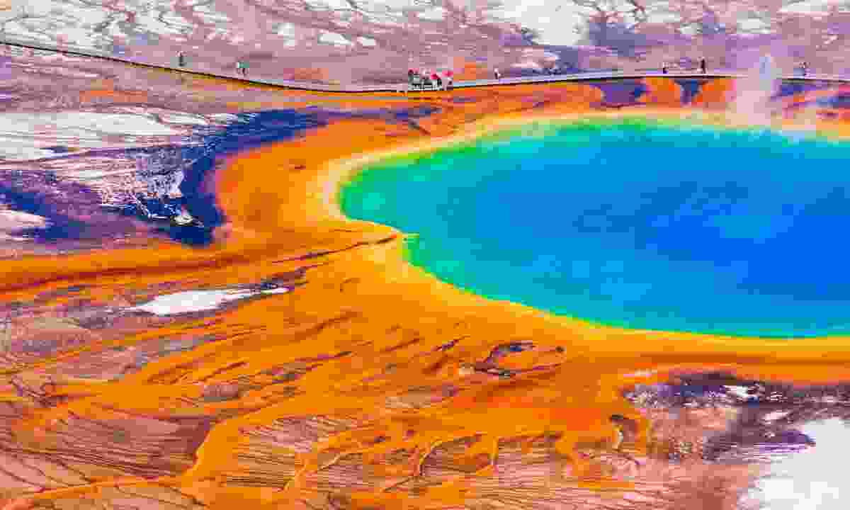 Grand Prismatic Spring in Yellowstone National Park (Shutterstock)