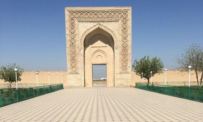Rabati Malik caravanserai in Malik, in the Navoiy province (Shutterstock)
