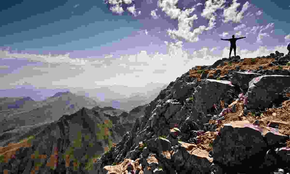 Hiker in the Pyrenees (Shutterstock)