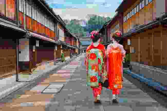 The Geisha District in Kanazawa (Shutterstock)