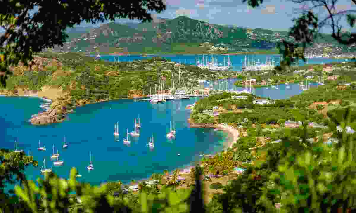 English Harbour and Nelson's Dockyard in Antigua (Shutterstock)