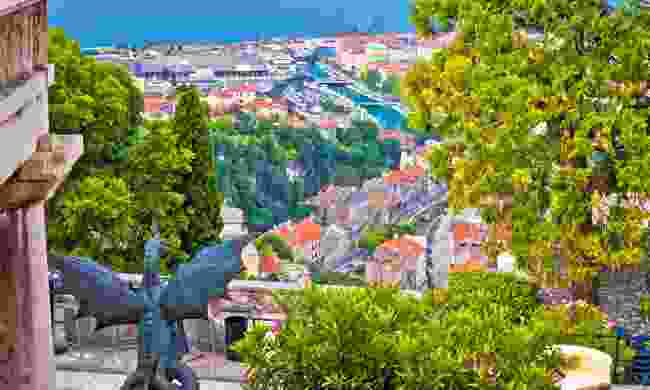 Looking across Rijeka from Trsat (Shutterstock)