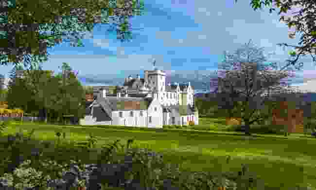 The whitewashed beauty of Blair Castle (Shutterstock)