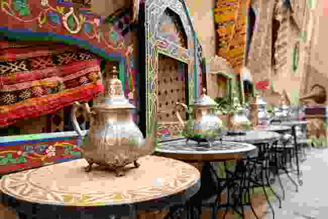 Decorations in a Moroccan souk (Shutterstock)