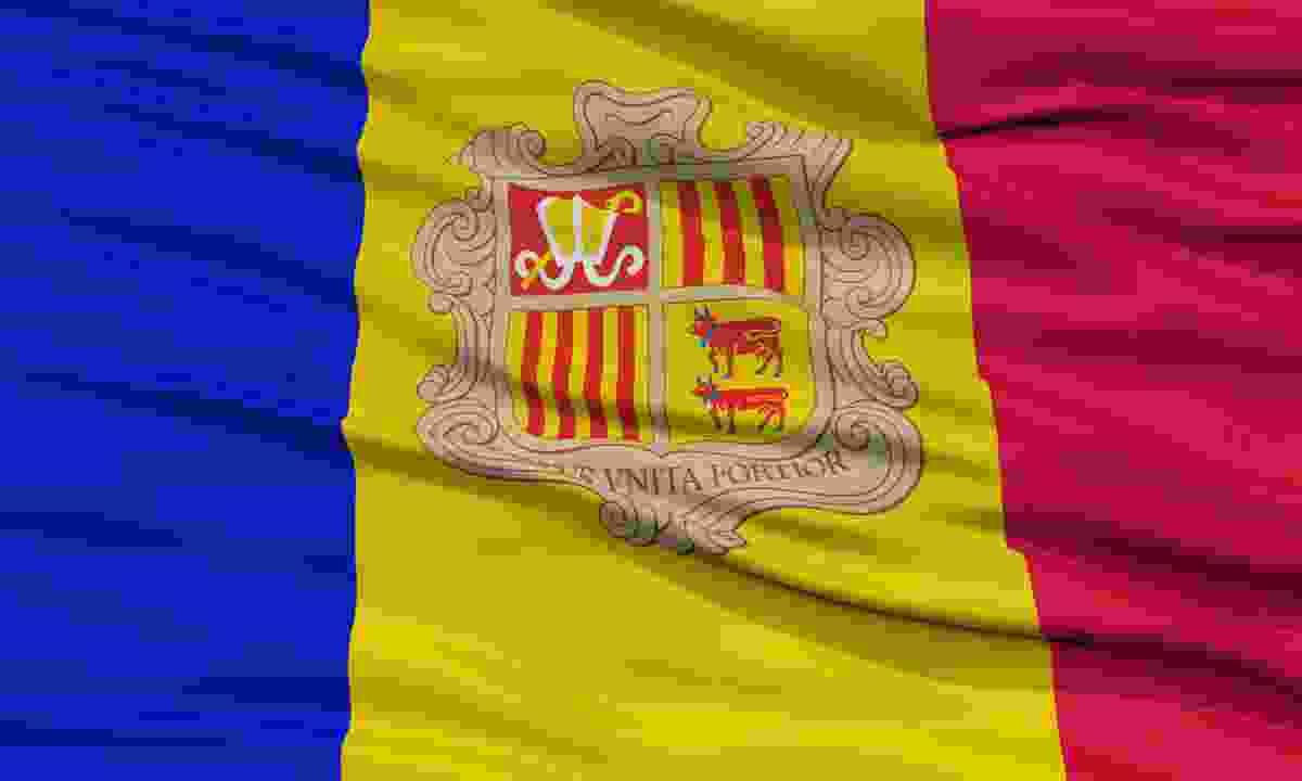 Andorra flag (Dreamstime)