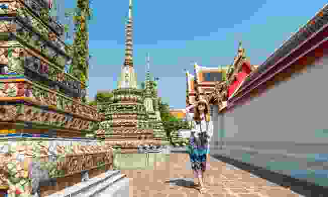 Exploring temples in Thailand (Dreamstime)