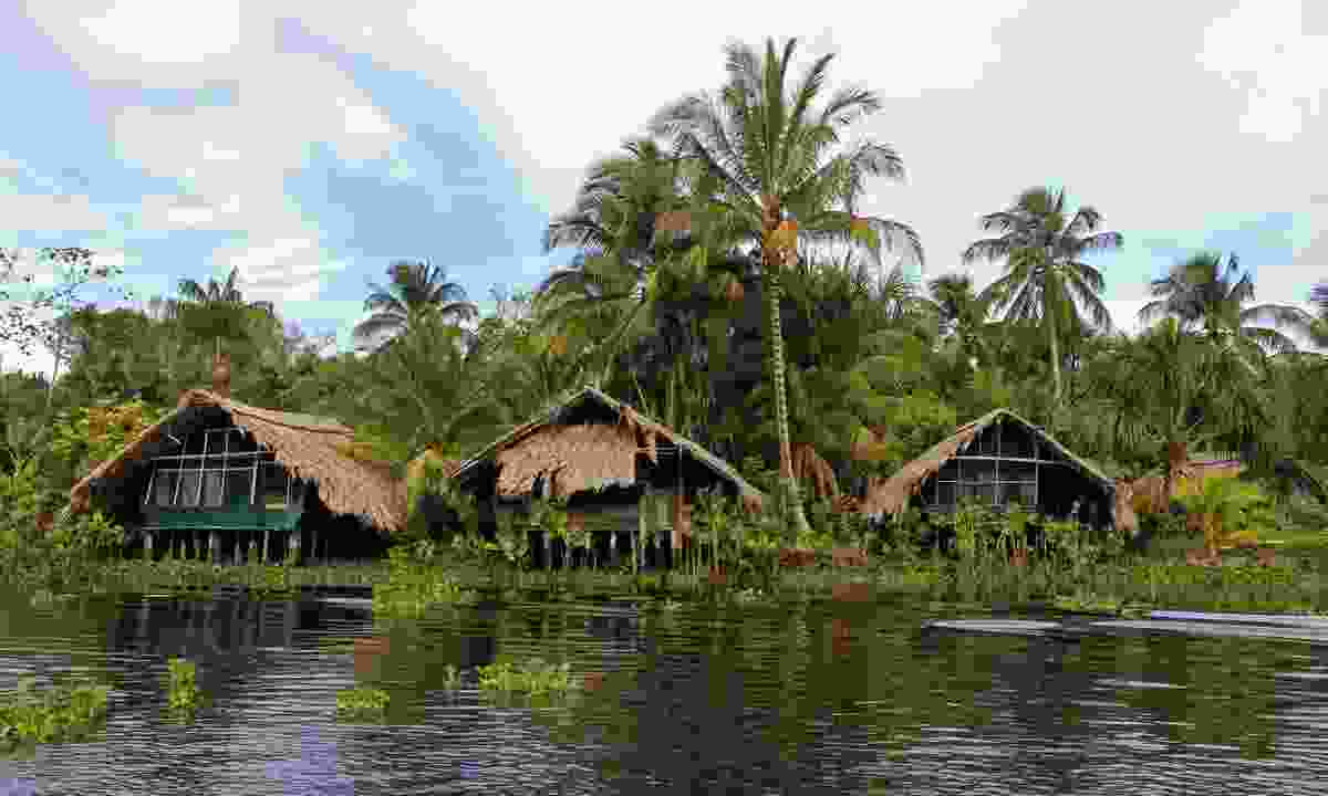 Stilt houses on the Orinoco Delta (Dreamstime)