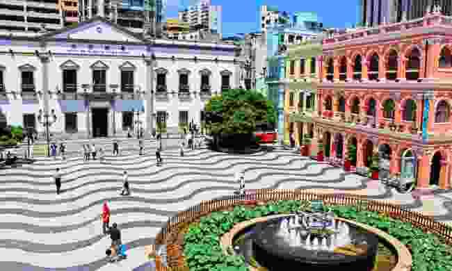 Senado Square, Macao (Dreamstime)