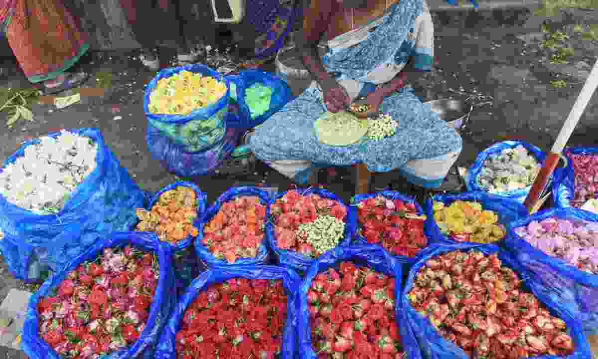 Madurai's flower market (Dreamstime)