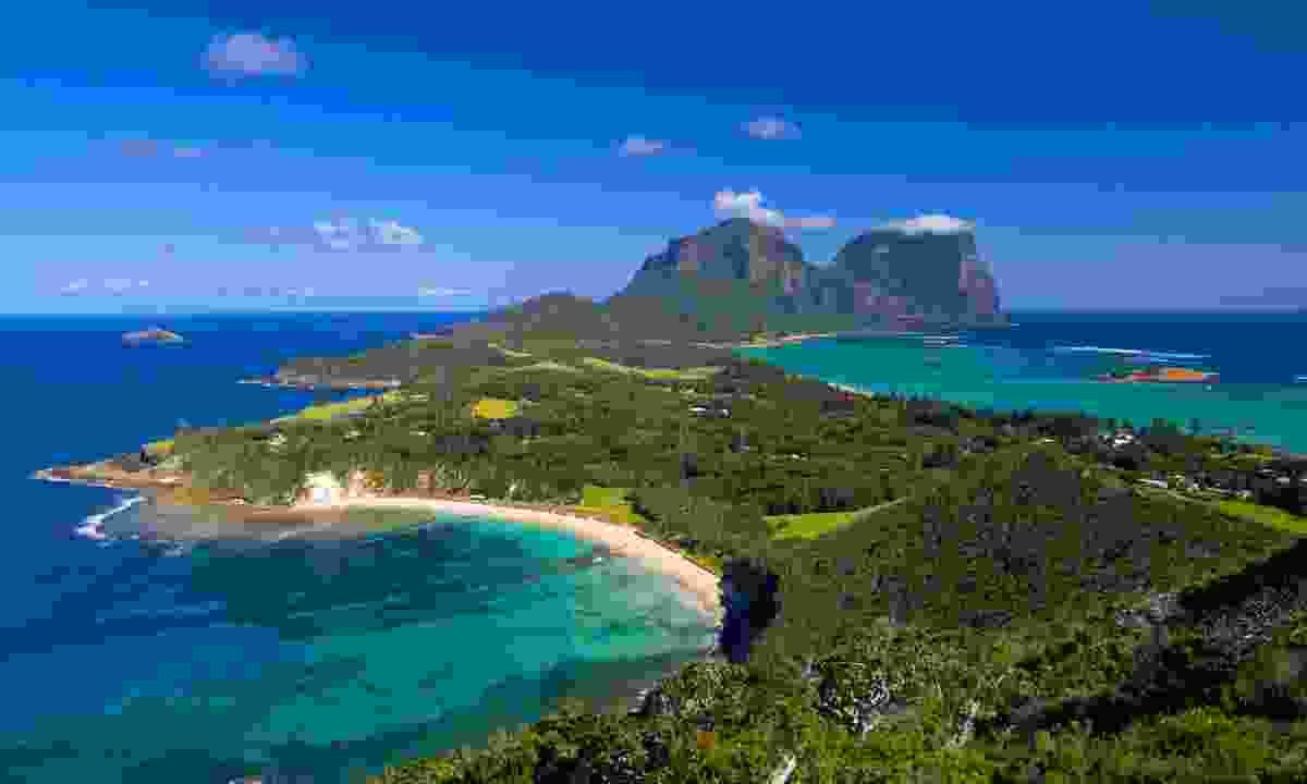 View over Lord Howe Island (Dreamstime)