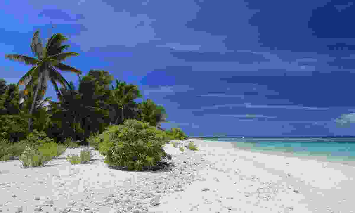 Beach on Christmas Island (Dreamstime)
