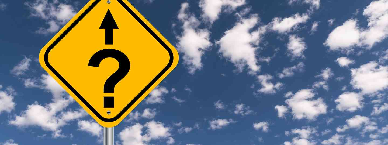 A question mark road sign (Dreamstime)