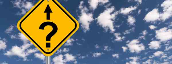 A question mark road sign (Dreamstime)