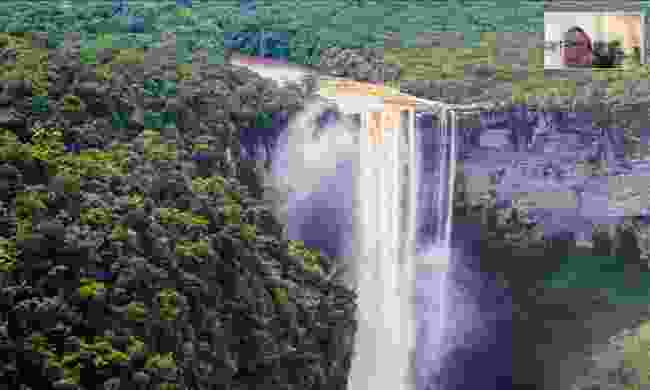 Helen also mentioned Kaieteur Falls in her presentation – admitting it's in a league of its own.