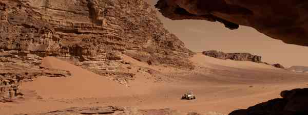 Modern-day Mars reimagined, taken from The Planets on BBC Two (BBC/Lola Post Production)