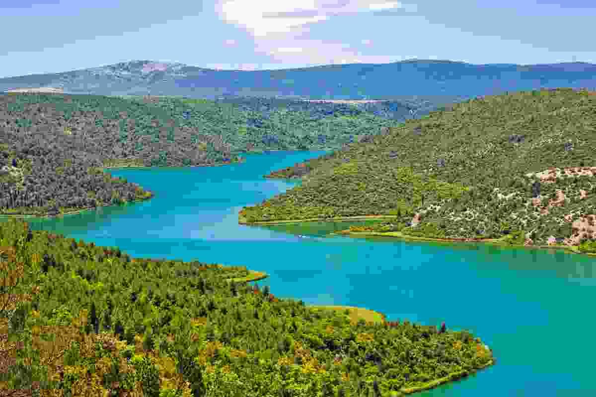 River Krka, inside Krka National Park, Croatia (Dreamstime)
