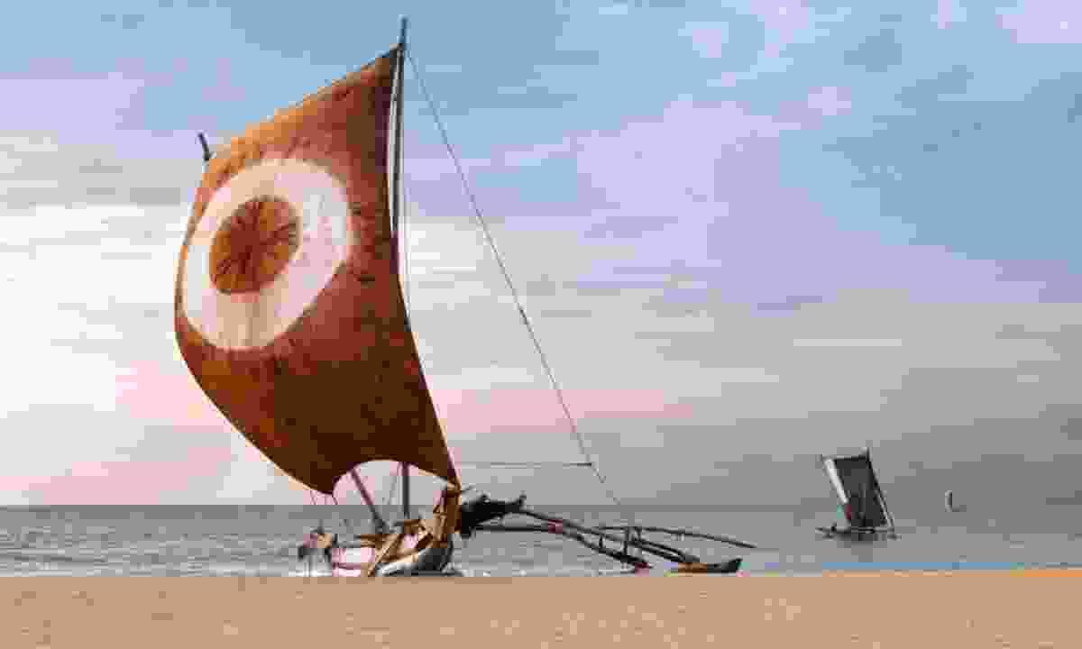 Sri Lankan fishing boat (Shutterstock)