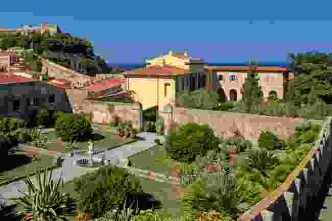 Napoleon's residence in Elba, Italy (Shutterstock)