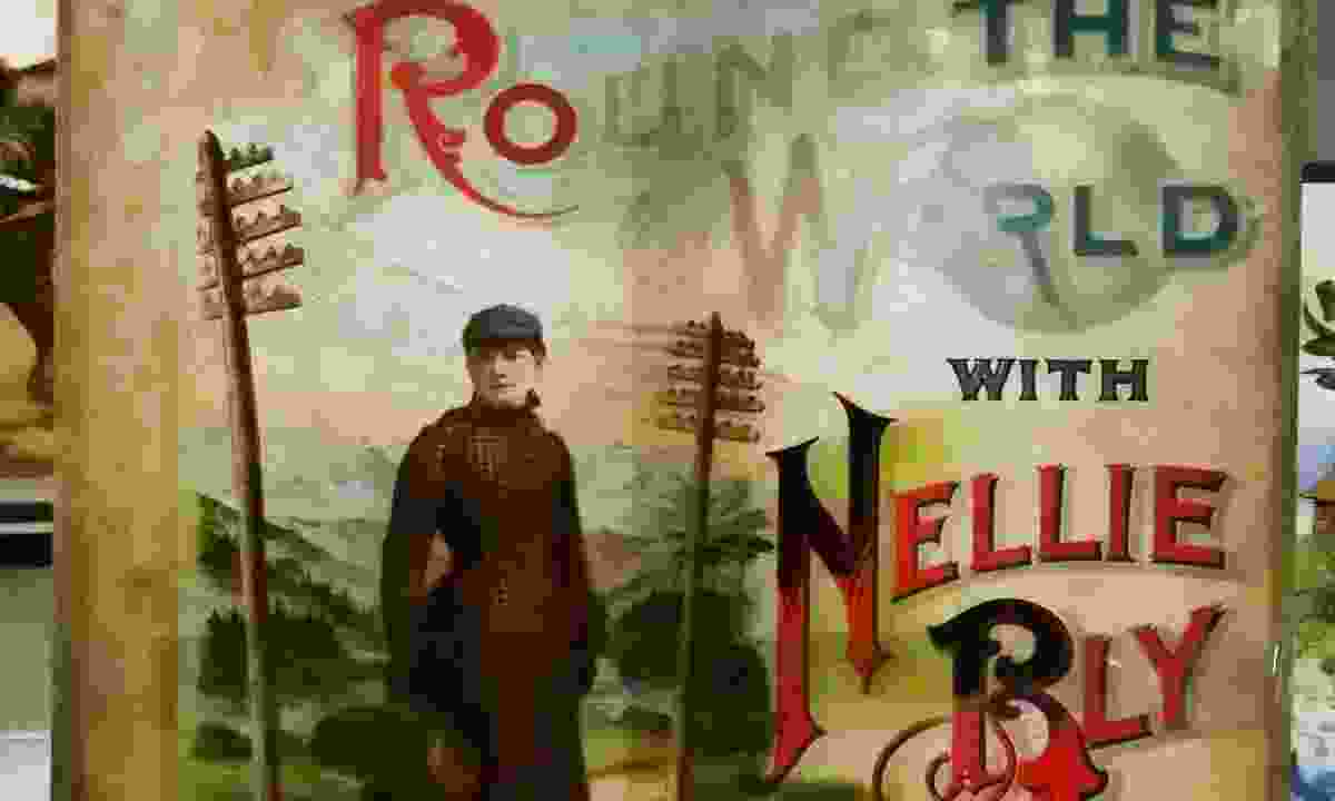 The cover of the book written by Nellie Bly documenting her trip around the world in less than 80 days (Dreamstime)