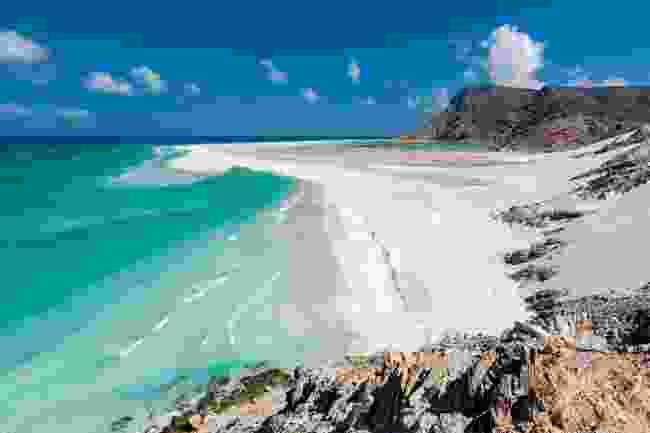 Detwah beach (Chris Miller)