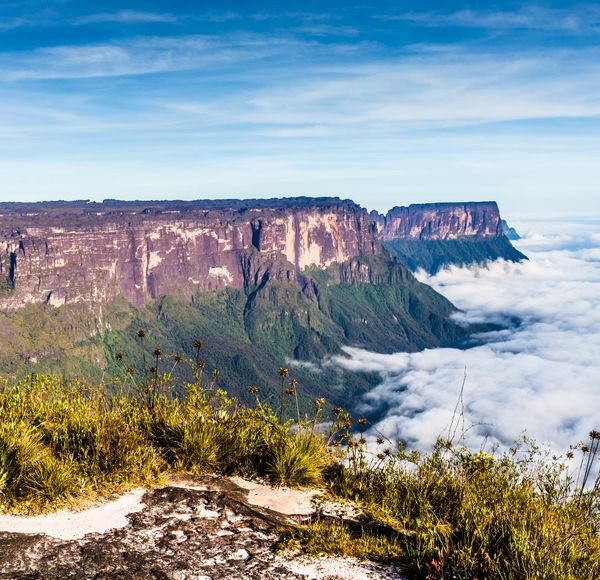 If you like this, try... Roraima, Venezuela. For more Lost World-esque landscapes, a five-day trip up Venezuela's iconic tepui is the ultimate challenge.