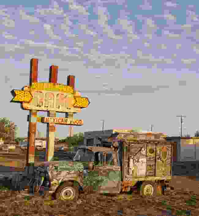 An old ranch house café (Rick Sammon)