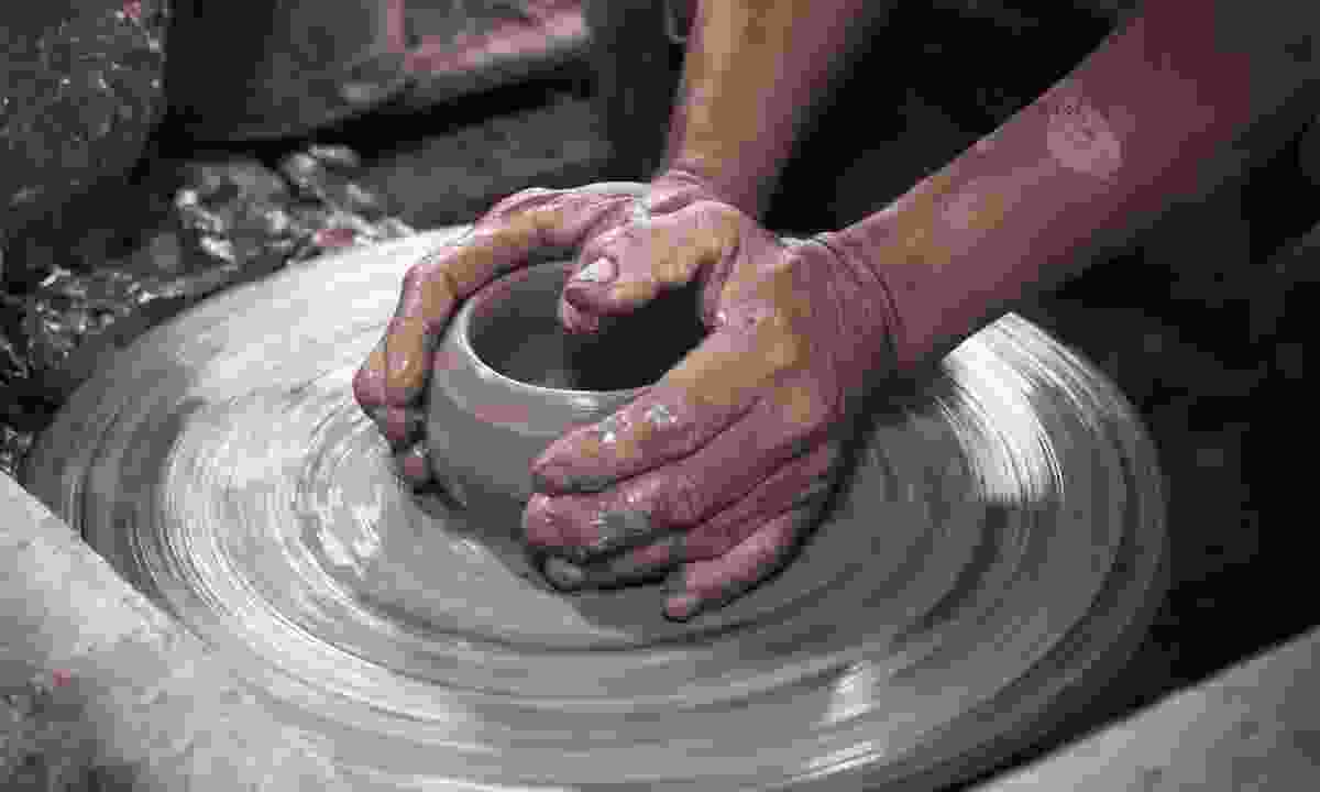 Learn to make pottery (Shutterstock)