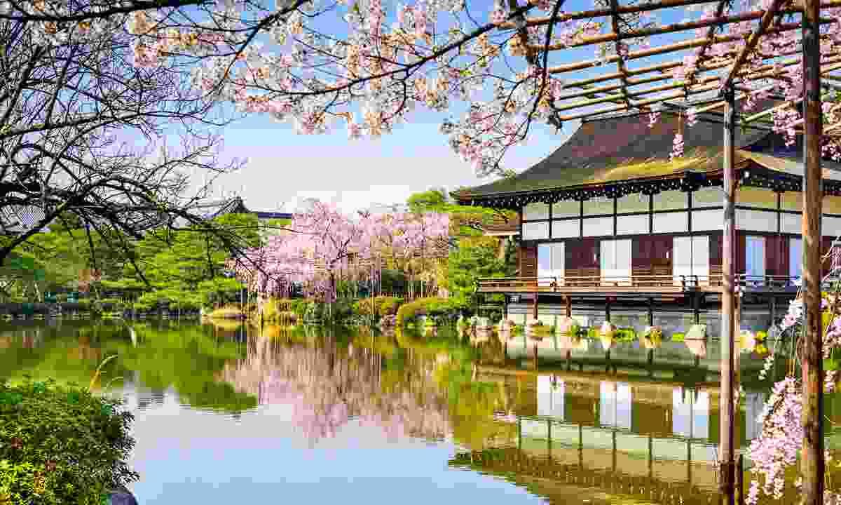 The garden of Heian-jingu shrine (Shutterstock)