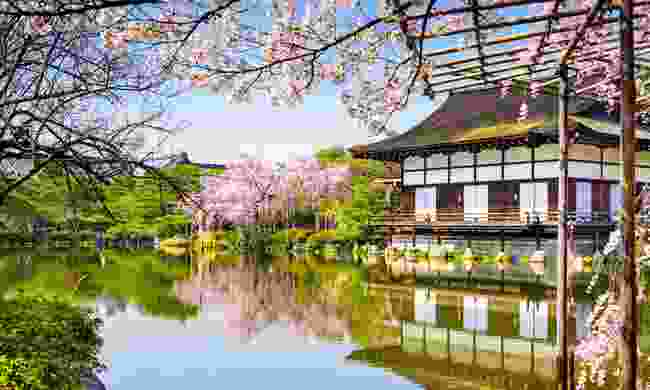 The garden of Heian-jingu shrine (Shutterstock)