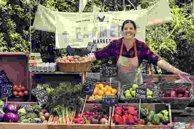 A farmer's market in Toronto (Shutterstock)