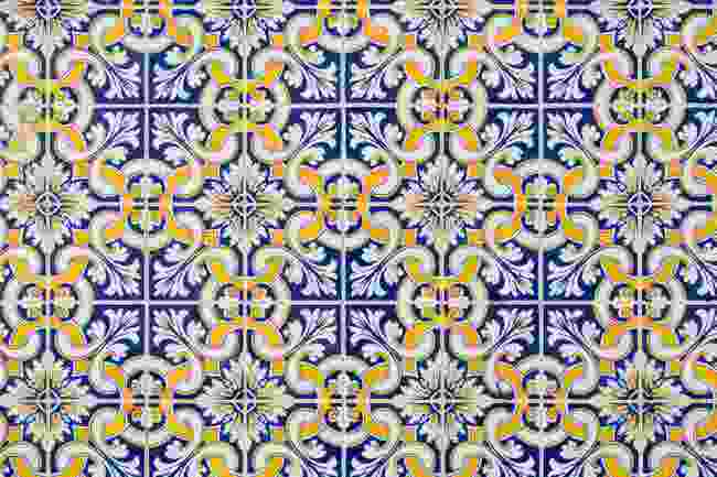 Tavira, Portugal's ceramic tilework can be seen throughout the town (Shutterstock)