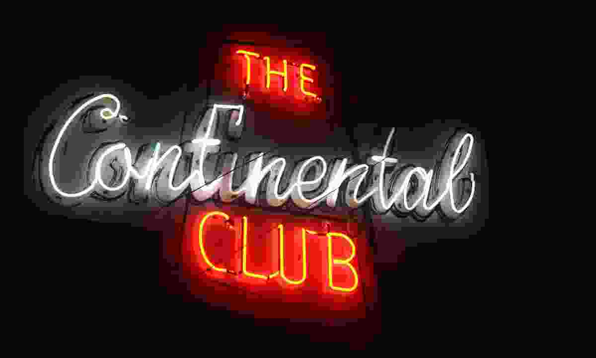 The iconic Continental Club sign (Visit Austin)