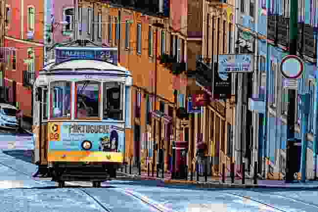 Lisbon's famous vintage trams (Shutterstock)