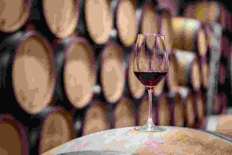 Wine ageing in Oak Barrels in Burgundy, France (Shutterstock)