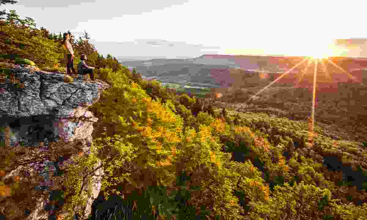 Hike the cliffs to be rewarded with stunning views  (Albstadt Tourismus)
