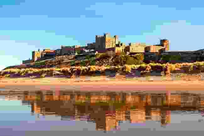 Bamburgh Castle, Northumberland (Shutterstock)