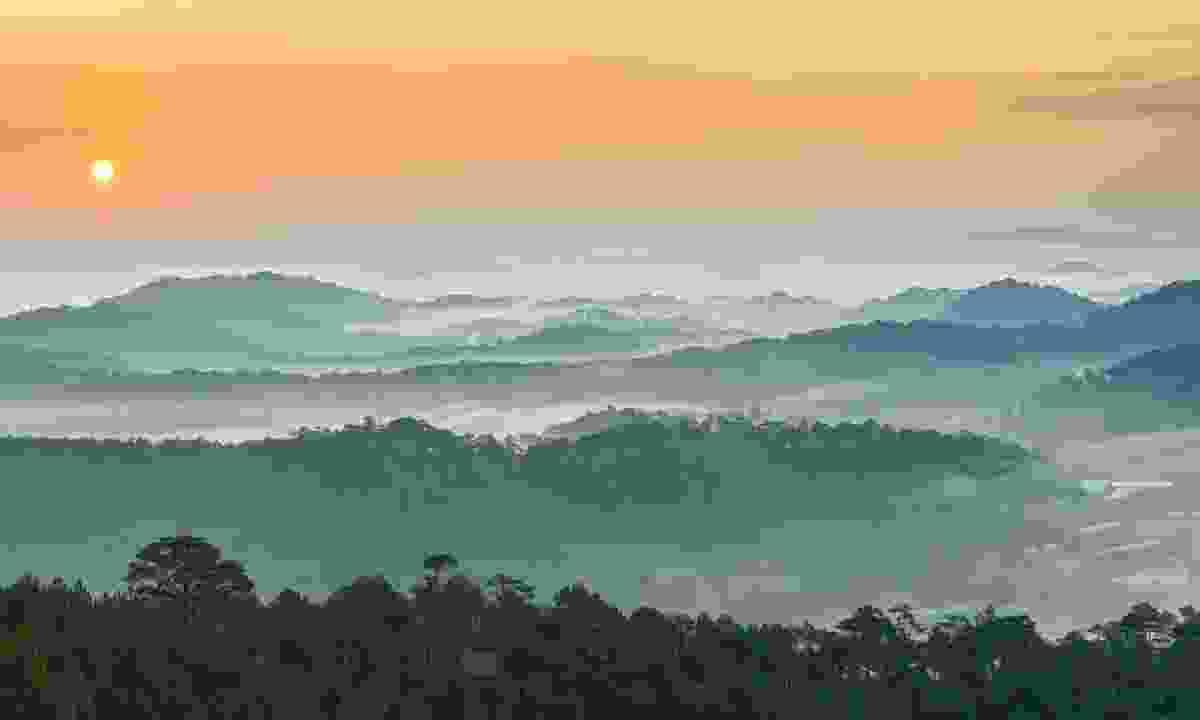 Sunrise over Dalat (Dreamstime)
