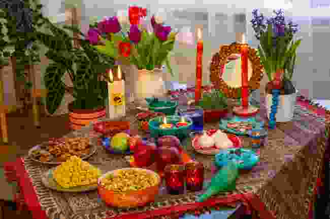 A Nowrus feast (Shutterstock)