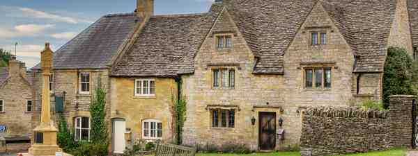 The village of Guiting Power (Shutterstock)