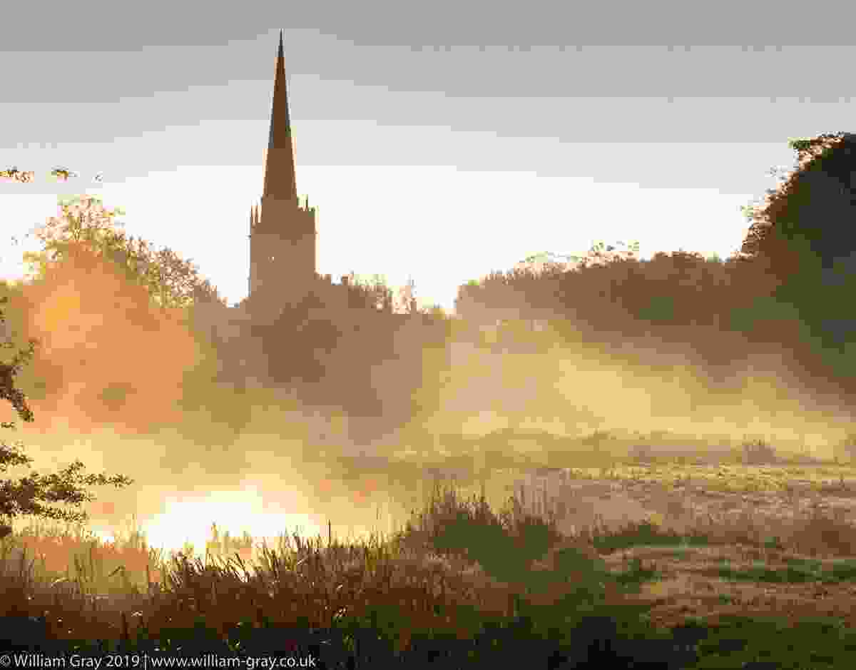 Misty sunrise at Burford, Cotswolds (William Gray)