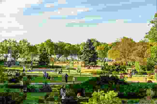 Herastrau Park in spring, Bucharest (Radu Bercan/Shutterstock)
