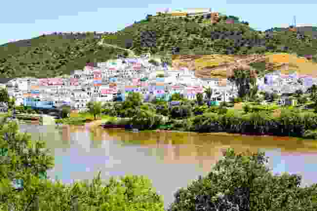 The view from Alcoutim to Sanlucar de Guadiana, Spain (Shutterstock)