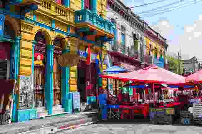 A colourful Buenos Aires neighbourhood (Shutterstock)