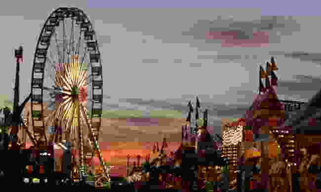 Carnival at the Houston Livestock Show and Rodeo