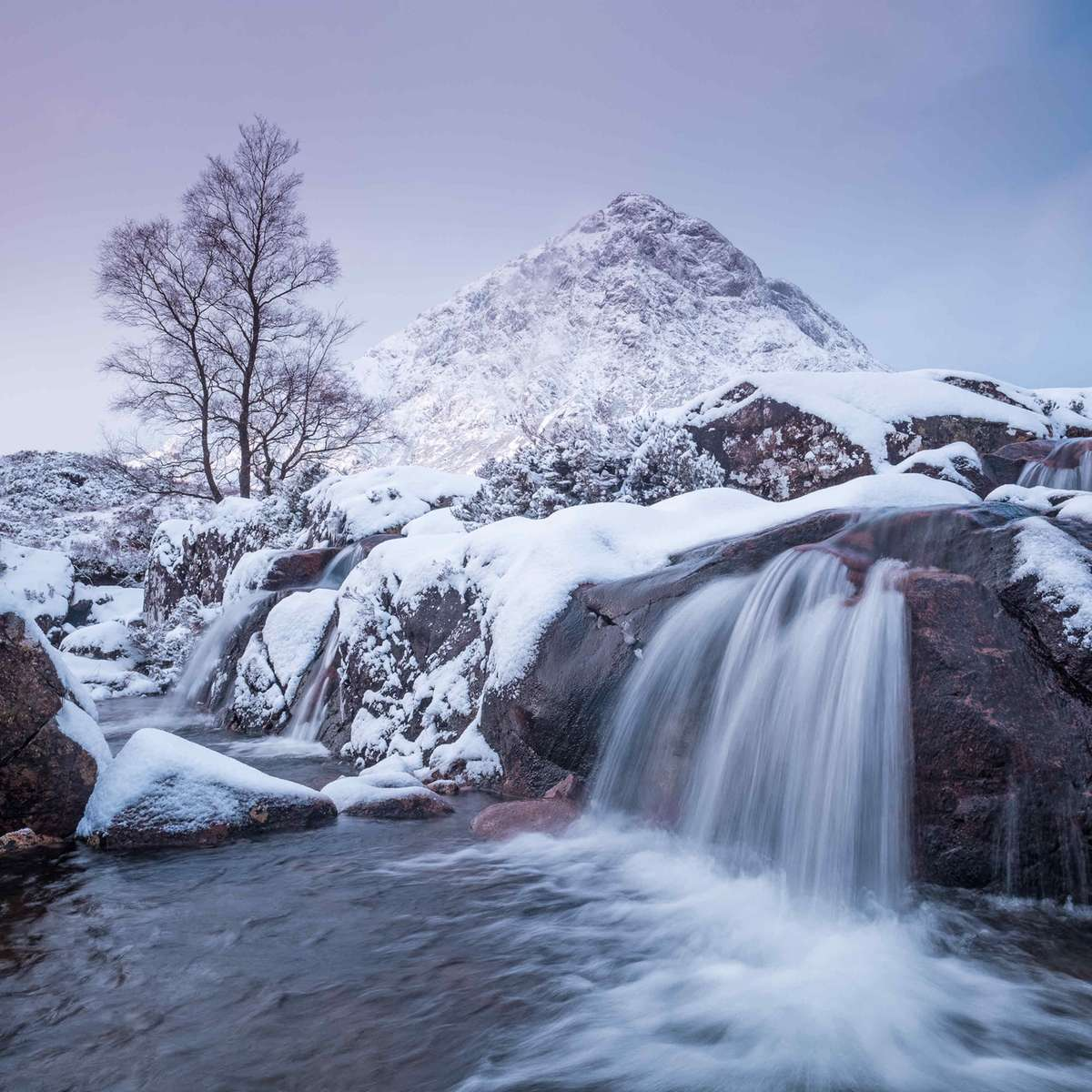 River Coupall and Stob Dearg, Glen Etive (Clive Minnitt)
