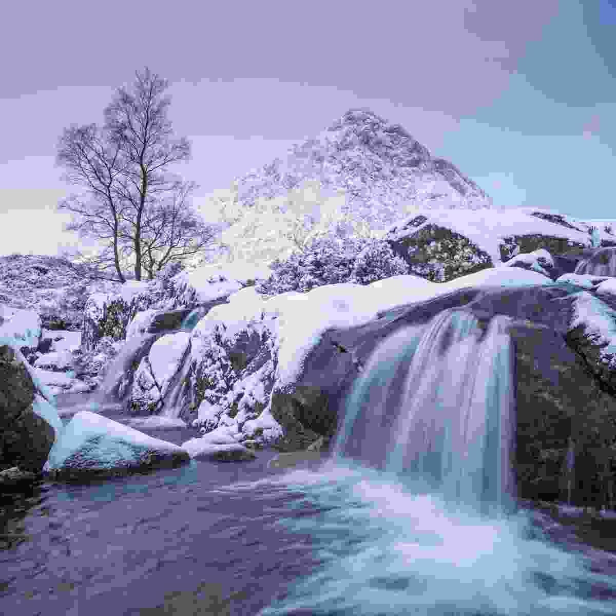 River Coupall and Stob Dearg, Glen Etive (Clive Minnitt)