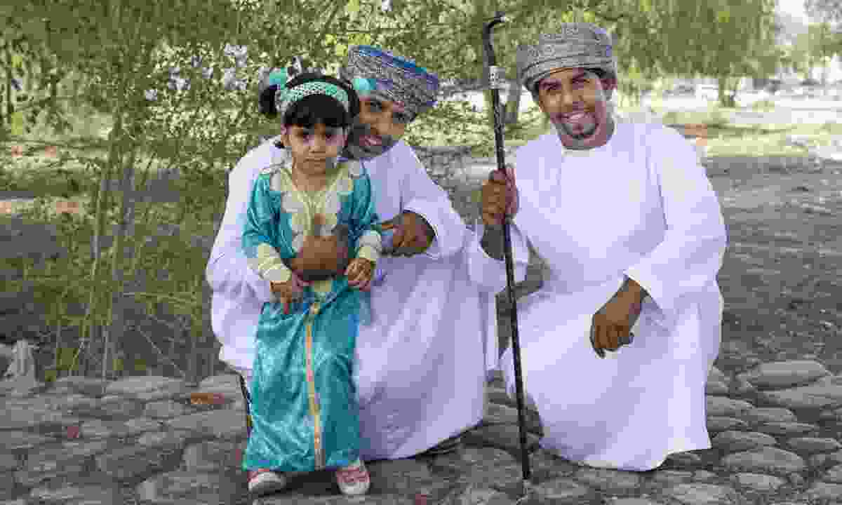Celebrating Eid Al Fitr inOman (Dreamstime)