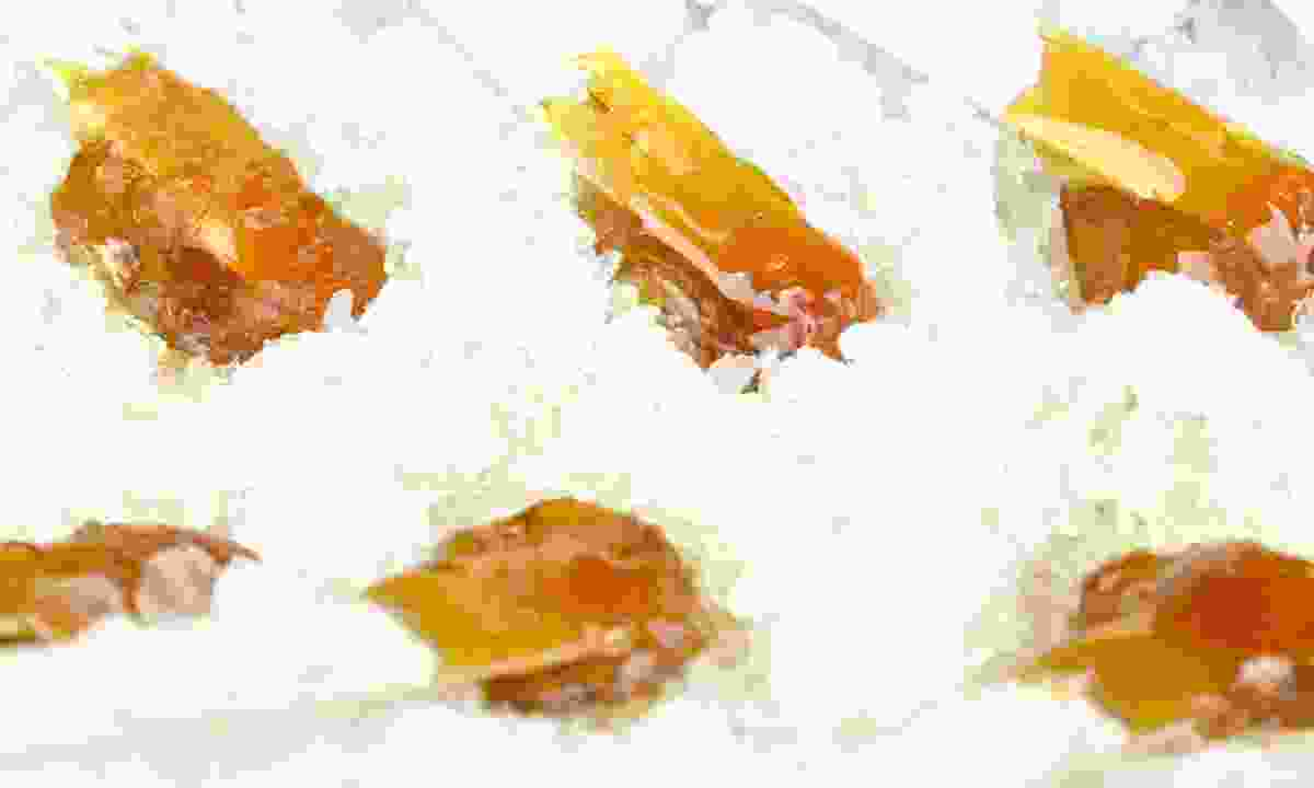 Maple taffy (Dreamstime)