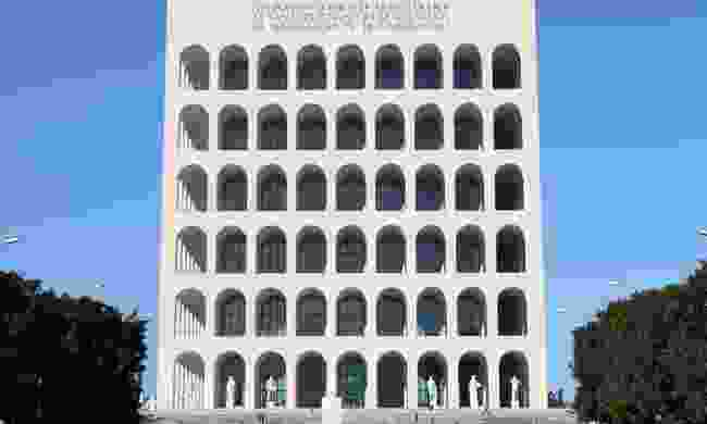 Squared Colosseum building in EUR (Dreamstime)