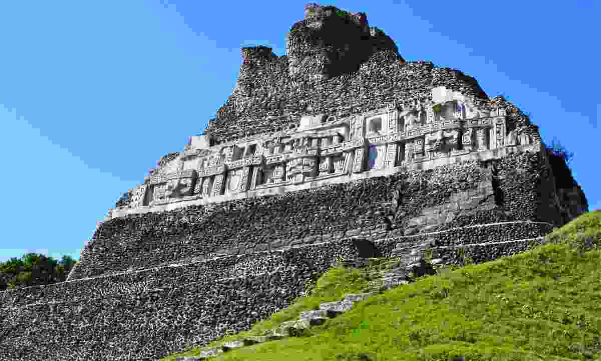 El Castillo at Xunantunich in Belize (Dreamstime)